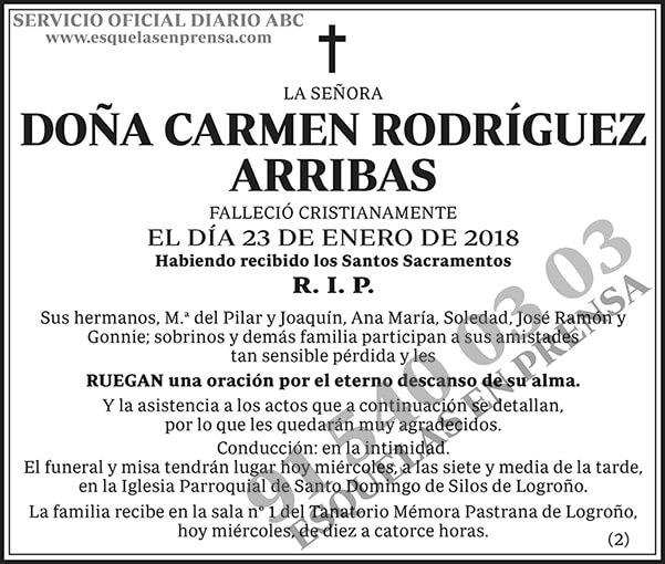Carmen Rodríguez Arribas